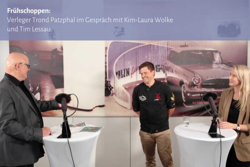 Frühschoppen: Trond Patzphal im Gespräch mit Kim-Laura Wolke und Tim Lessau