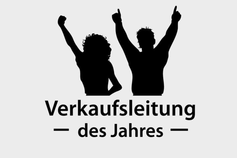 """Auszeichnung """"Verkaufsleitung des Jahres"""""""
