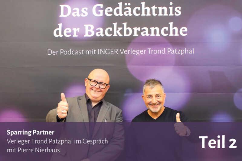 Sparring Partner – Trond Patzphal im Gespräch mit Pierre Nierhaus