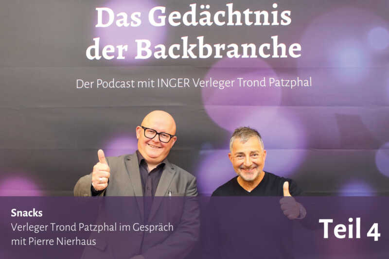 Snacks – Trond Patzphal im Gespräch mit Pierre Nierhaus