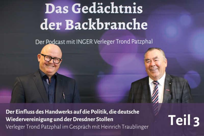 Der Einfluss des Handwerks auf die Politik uvm. – Trond Patzphal im Gespräch mit Heinrich Traublinger