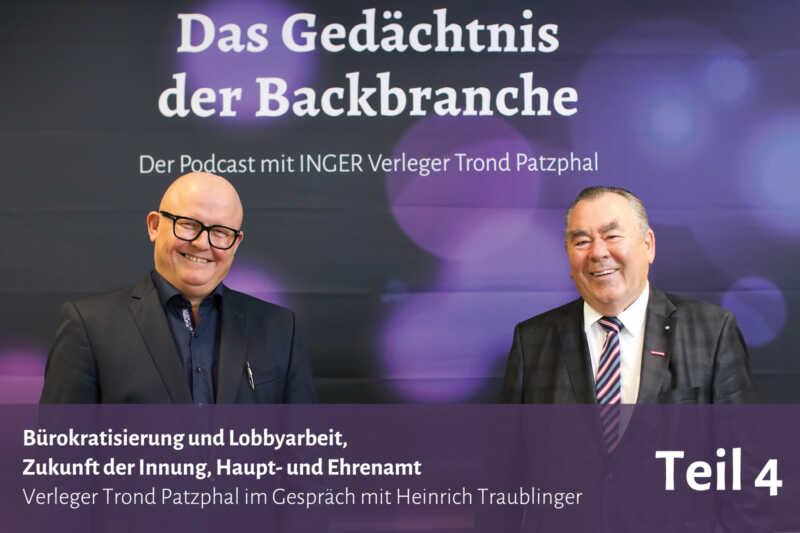 Bürokratisierung und Lobbyarbeit, Zukunft der Innung – Trond Patzphal im Gespräch mit Heinrich Traublinger