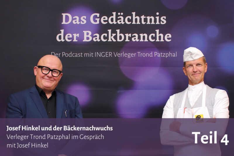 Josef Hinkel und der Bäckernachwuchs – Trond Patzphal im Gespräch mit Josef Hinkel