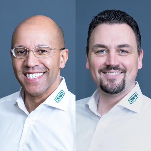 Edgar Wenkel und Alexander Bressler: Bäckereianwendungen von Vemag – flexibel und innovativ